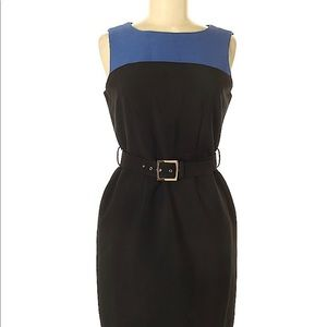 Banana Republic Blue/Black Dress